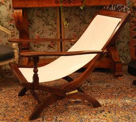 Chaise longue XIXème